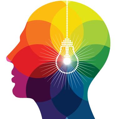 colorful head light