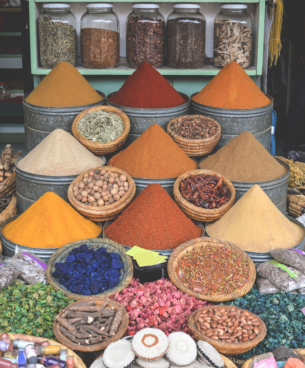things-to-do-in-Marrakech-souks-morrocco-spices