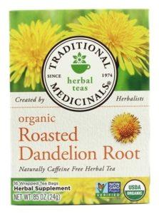 traditional medicinals organic dandelion root tea