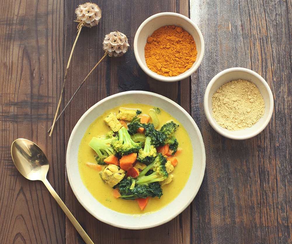 Recipe: Seasonal Vegetable Coconut Curry [Vegan]