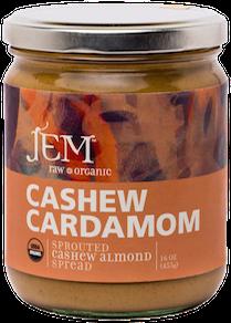 medicinal almond butter cashew cardomom