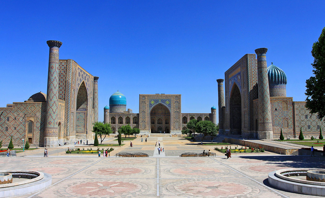 samarkand-guide-registan