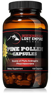 lost herbs pollen capsules