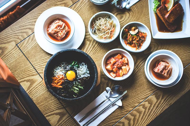 Platter of Fermented Foods