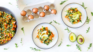 Summer Superfood Scramble: How to Supercharge Your Breakfast for All Day Energy and Health
