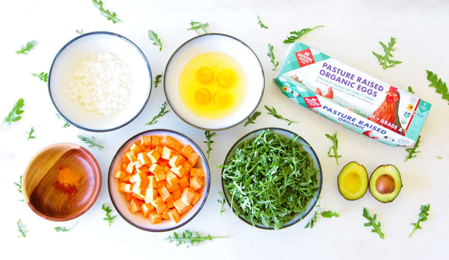 Superfood Scramble Recipe Ingredients