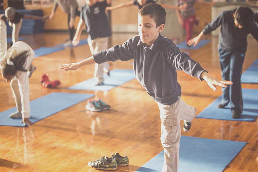 Bent on Learning: Teach Yoga in Schools
