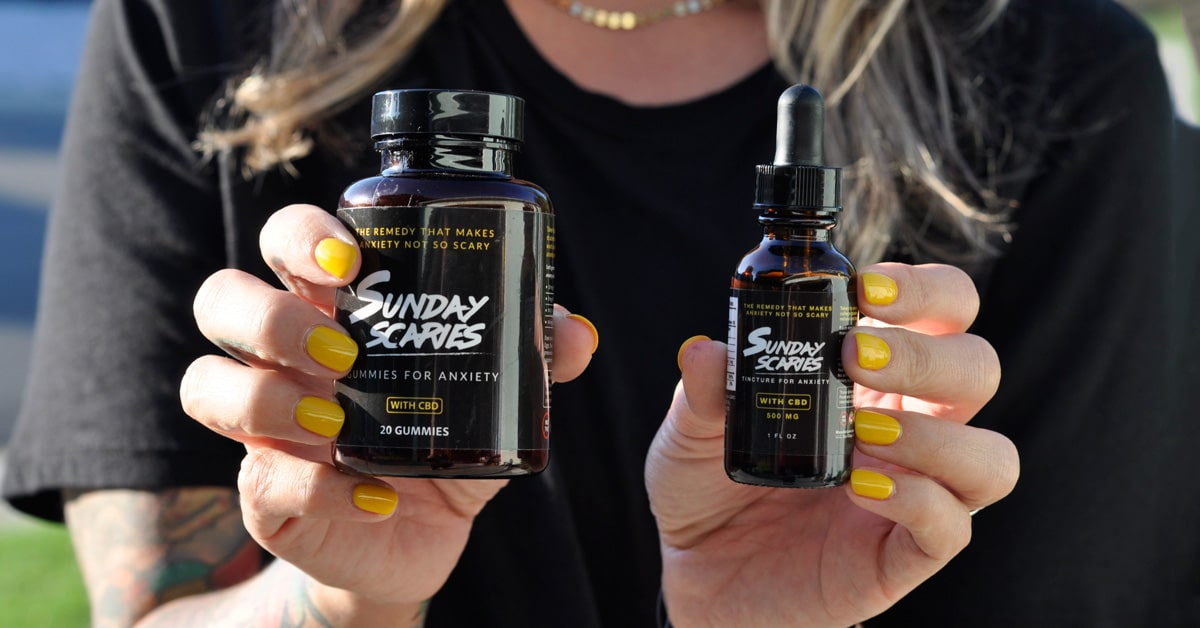 Sunday Scaries CBD Gummies Fight Anxiety Quickly
