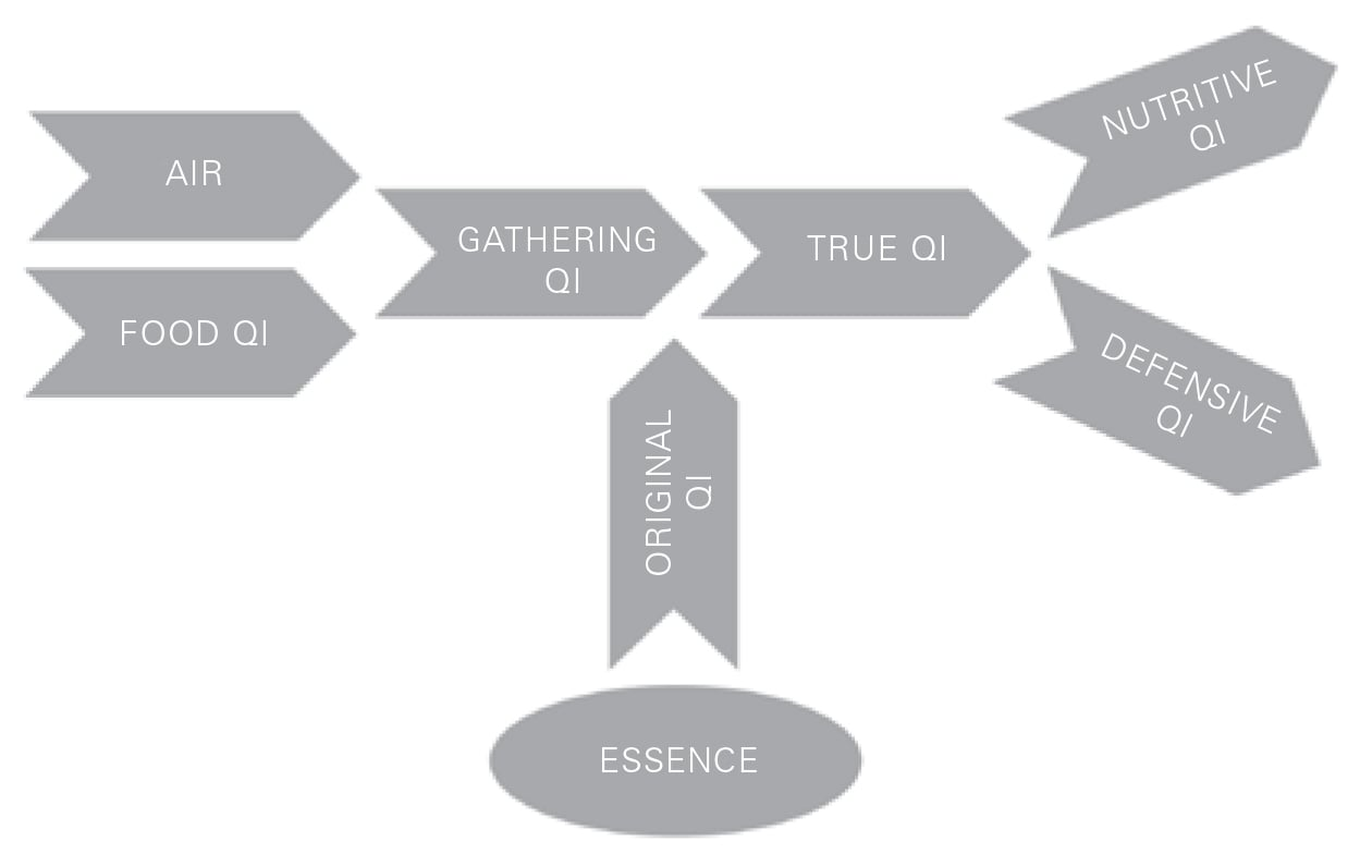 Figure 46 Creation of Qi
