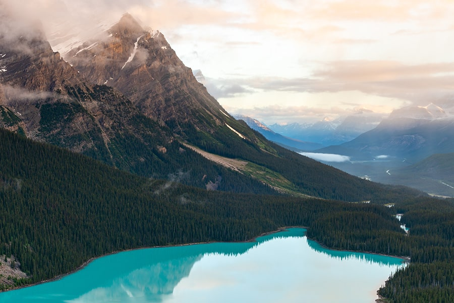 banff-peyto-lake-sunrise